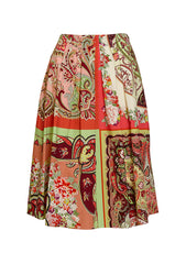 Etro Printed Cotton Skirt