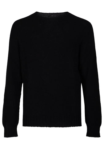 Bad Habits Black Cashmere Sweater shop online at lot29.dk