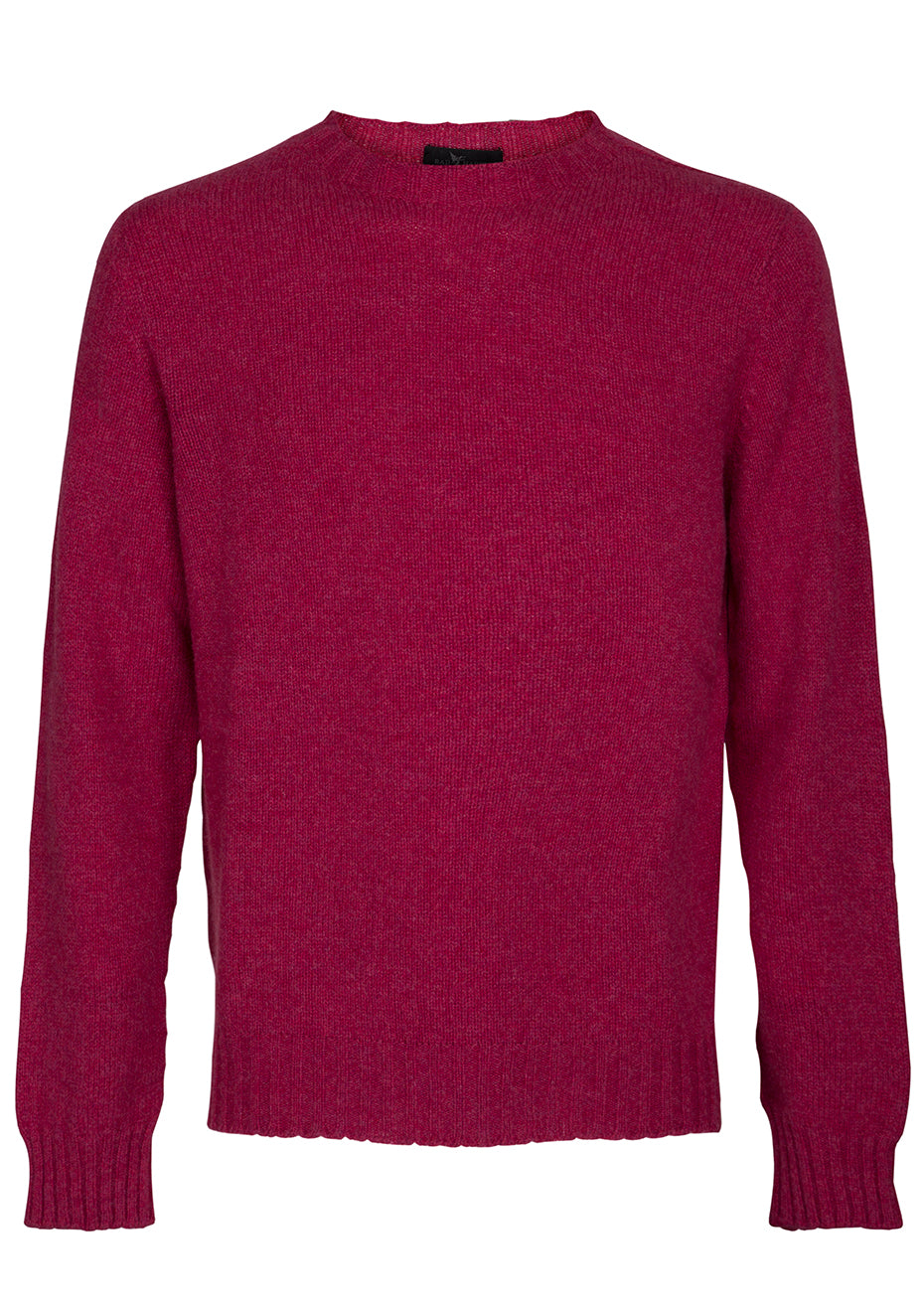 Deep Pink Cashmere Sweater