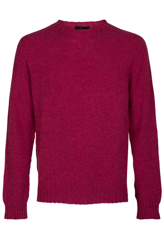 Bad Habits Deep Pink Cashmere Sweater shop online