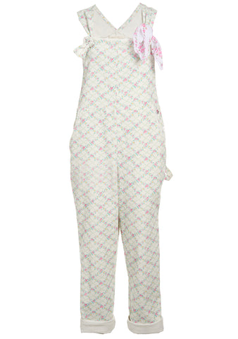 LoveShackFancy Daffy Floral Jumpsuit shop at lot29.dk