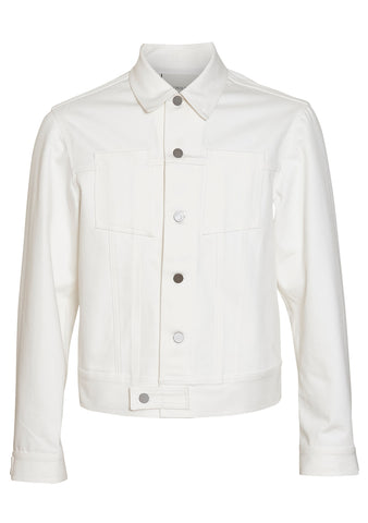 Tonsure White Denim Jacket