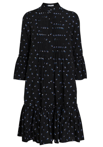 Erdem Winford Ditsy Cotton Fil Coupe Dress