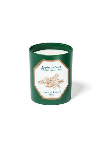 Carrieres Frères Christmas Tree Candle