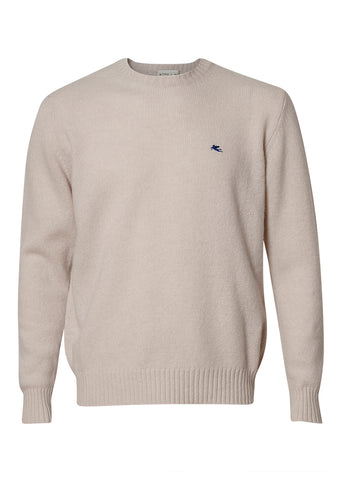 Etro Ivory Cashmere Sweater shop online at lot29.dk
