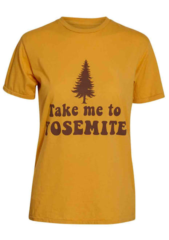Electric West Take me to Yosemite Tee