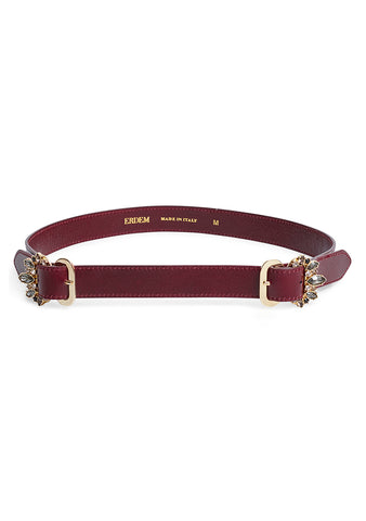 Erdem Narrow Jewel Belt