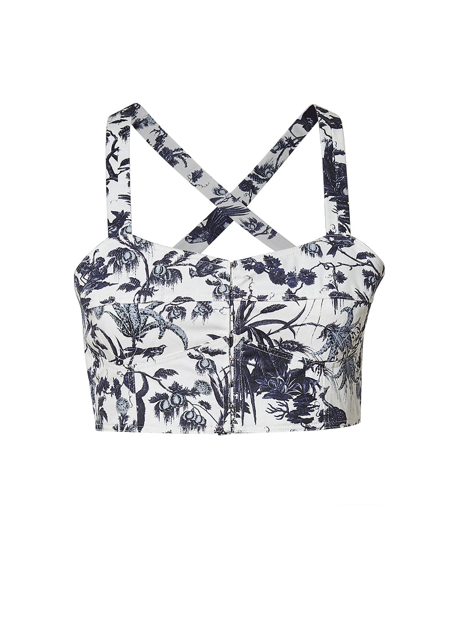 Abril Frida Bustier Top