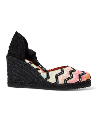 Missoni Zigzag Espadrille Wedges shop online lot29.dk