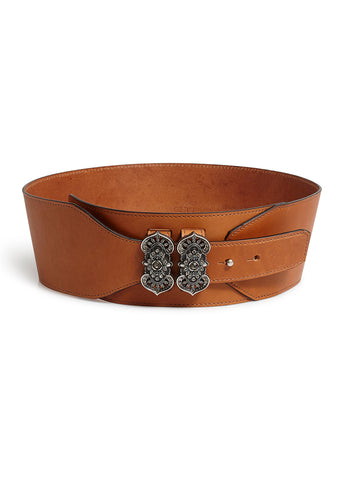 Etro Brown Leather Belt