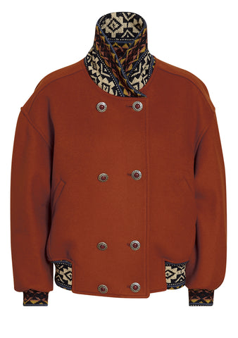 Etro Wool Bomber Jacket