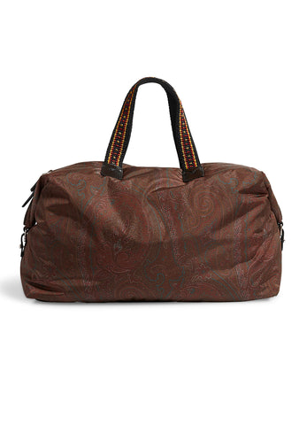 Etro Paisley Boston Bag