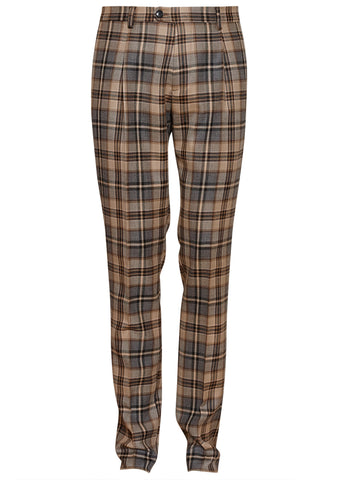 Etro Plaid Wool Pants