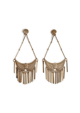 Etro Gold-tone Fringe Earrings shop online at lot29.dk