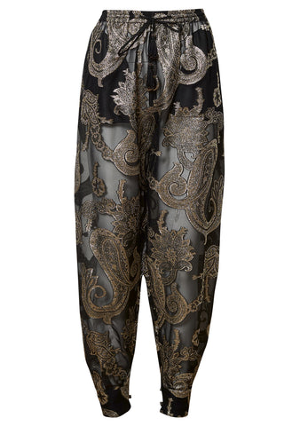 Etro Metallic Paisley Pants shop online lot29.dk