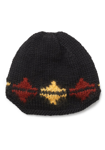 Etro Black Geometric Hat