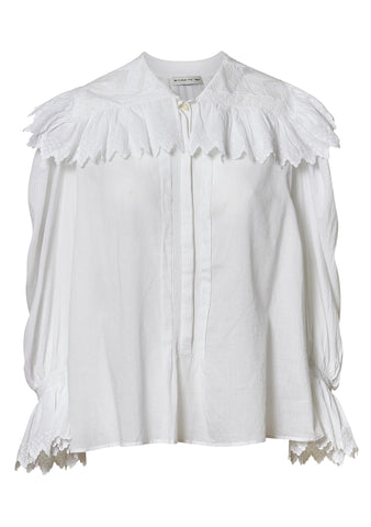 Etro White Embroidered Blouse shop online lot29.dk