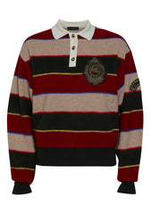 Etro Striped Knit Polo