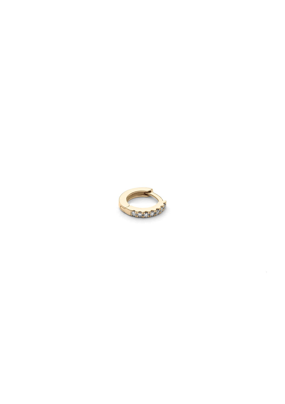 Ever I Diamond Hoop Mini Earring
