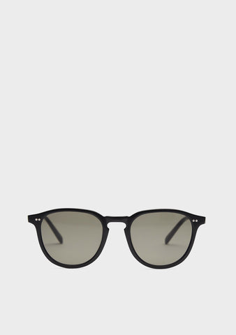 Folk & Frame Faber Matte Black Sunglasses