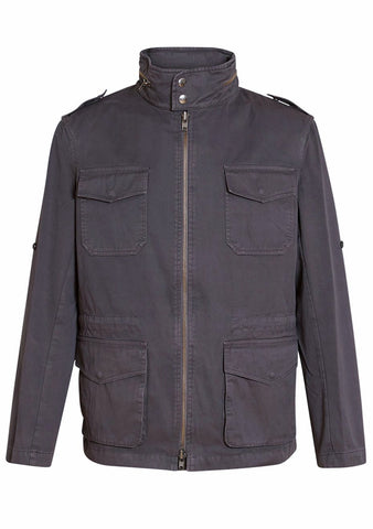 Martin Asbjørn Charcoal Grey Field Jacket LOT#29