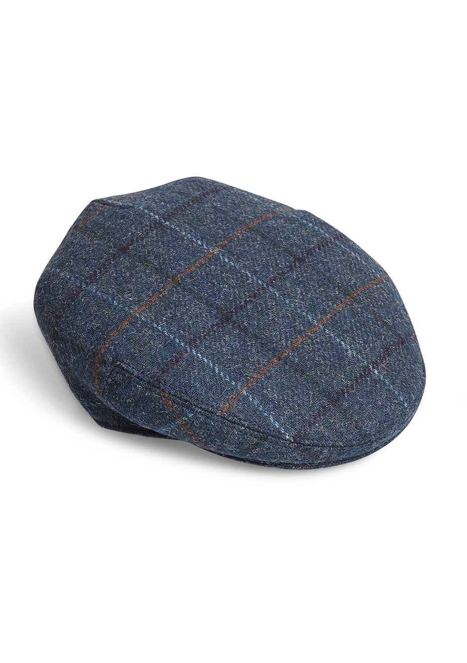 Plaid Flat Hat