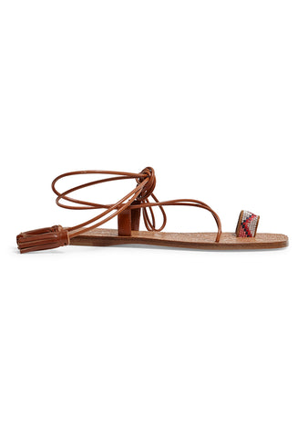 Etro Brown Leather Sandals shop online