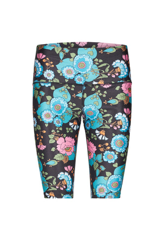 H2OFagerholt Tight Tights Black Flower
