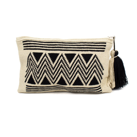 Black Wayuu Clutch