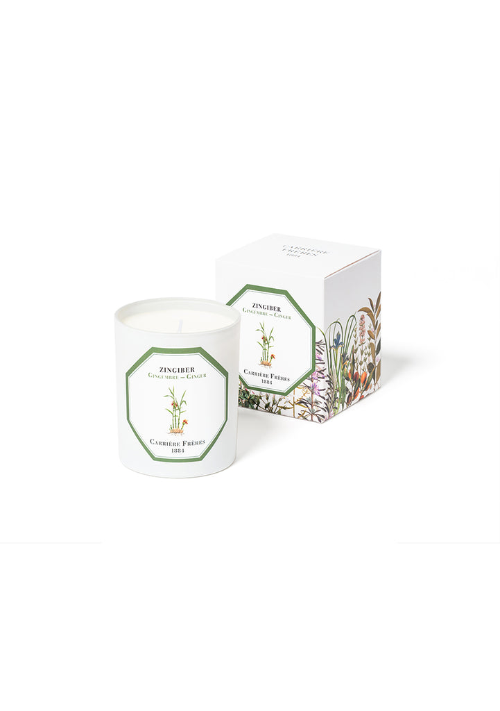 Carriers Freres Ginger Candle
