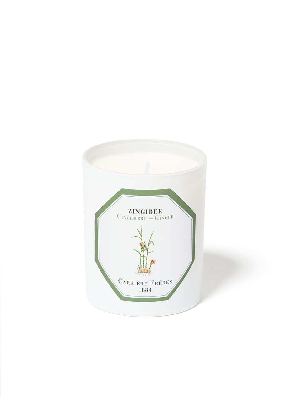 Ginger Scented Candle - Zingiber