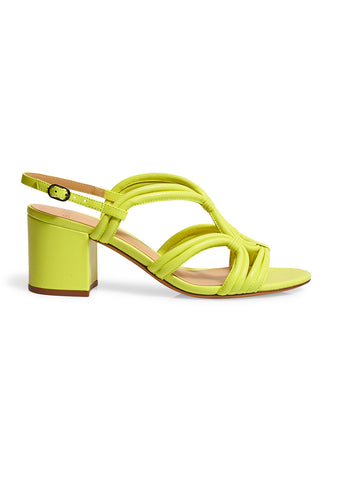 Alexandre Birman Giovanna Yellow Fluo Sandals
