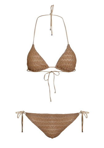 Missoni Mare Gold Triangle Bikini