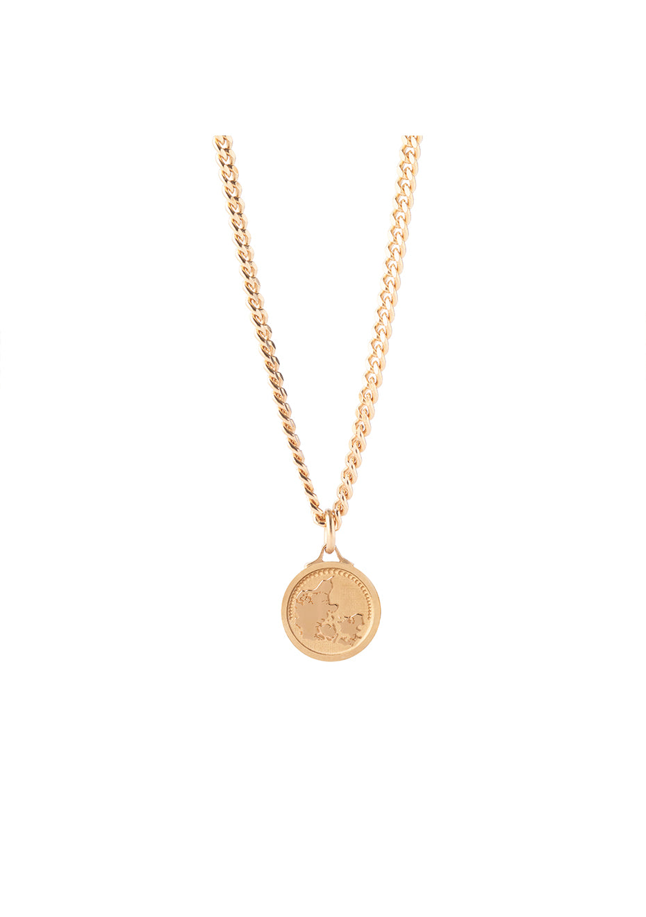 Denmark Panser Gold Plated Necklace