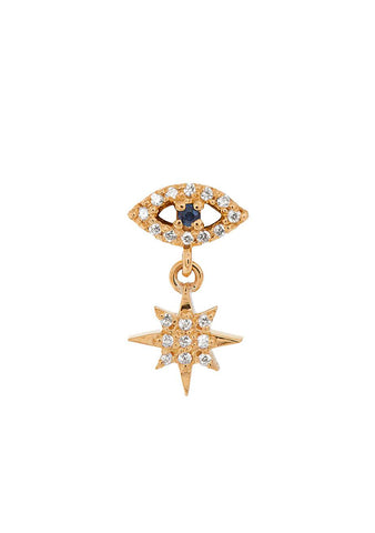 Ileana Makri Eye Star Stud