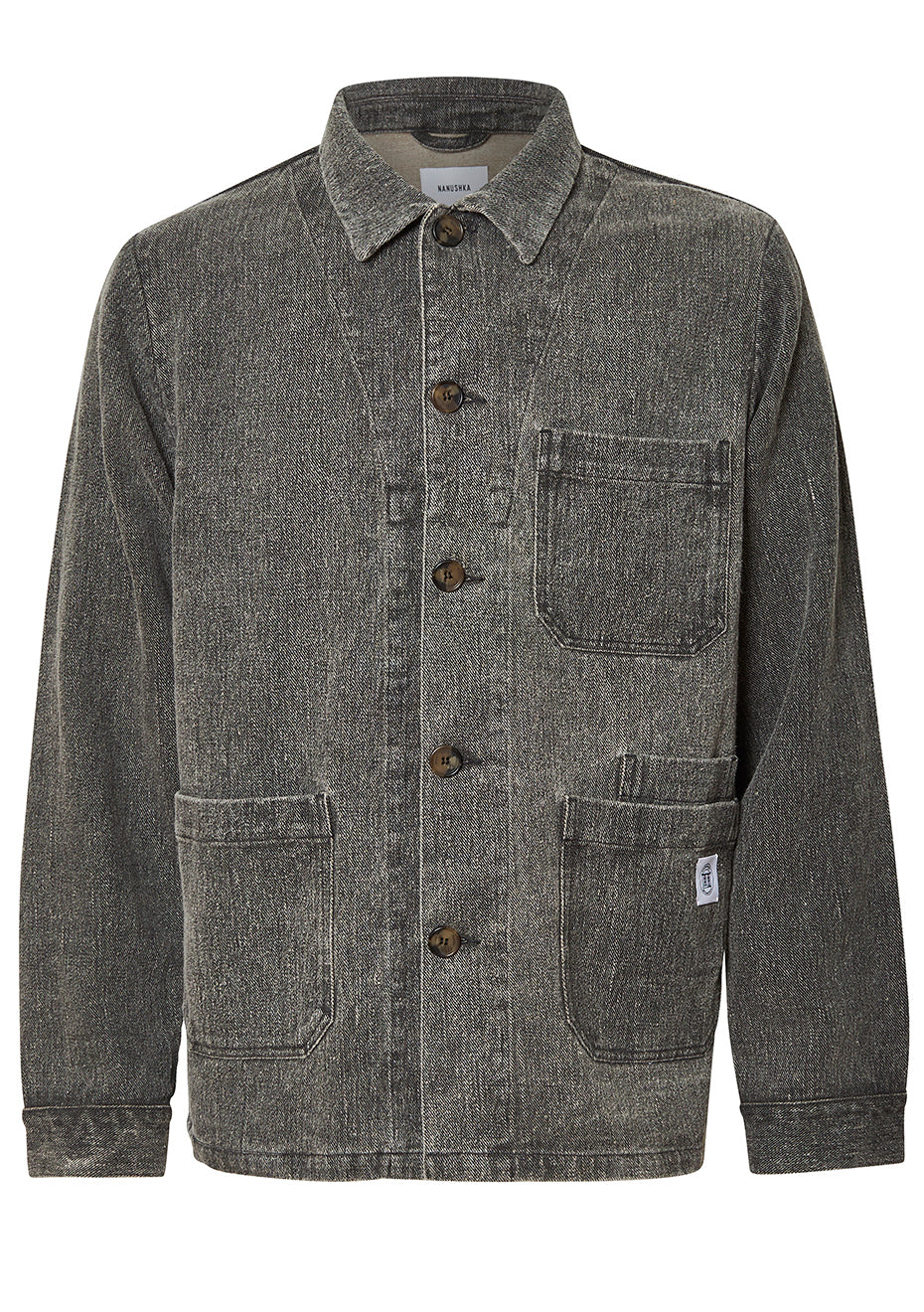 Theo Denim Black Studio Jacket