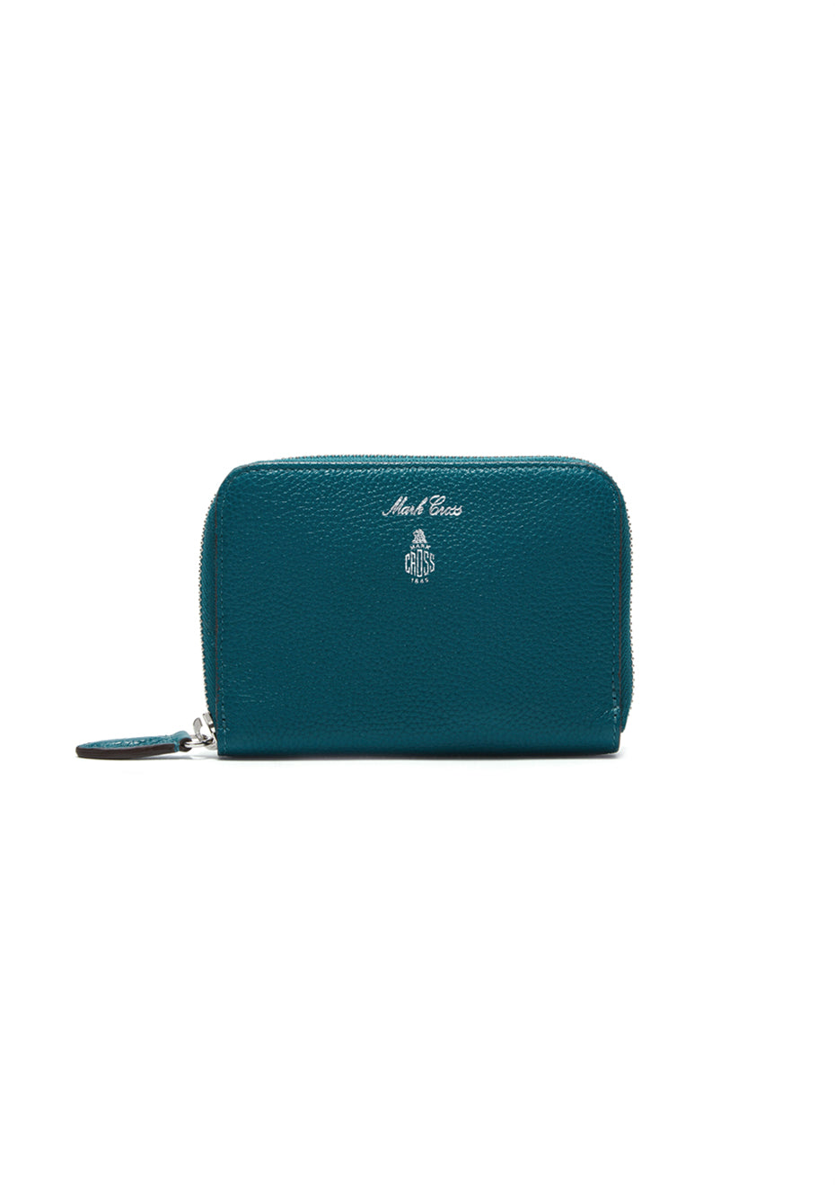 Sea Green Grace Small Zip Wallet