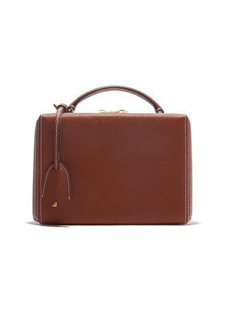 Mark Cross Acorn Grace Small Box Bag
