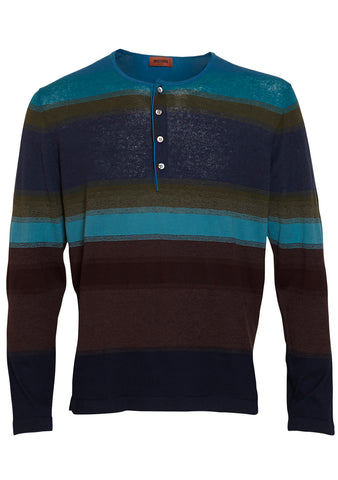 Missoni Striped Grandad Shirt