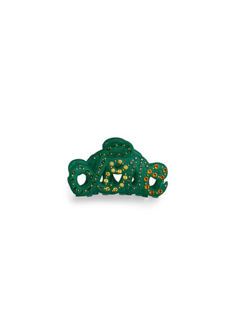 MC Davidian Green Love Mini Hair Clip