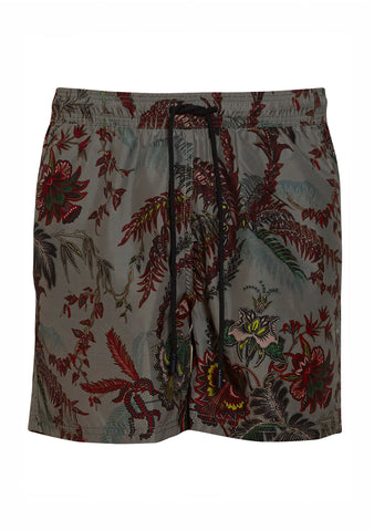 Etro Men Green Swim Shorts