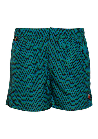 Missoni Mare Green Swim Shorts