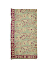Etro Dusty Green Paisley Scarf shop at lot29.dk