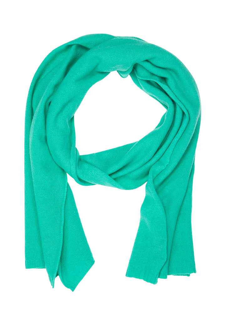 Bad Habits Men 80's Green Cashmere Scarf