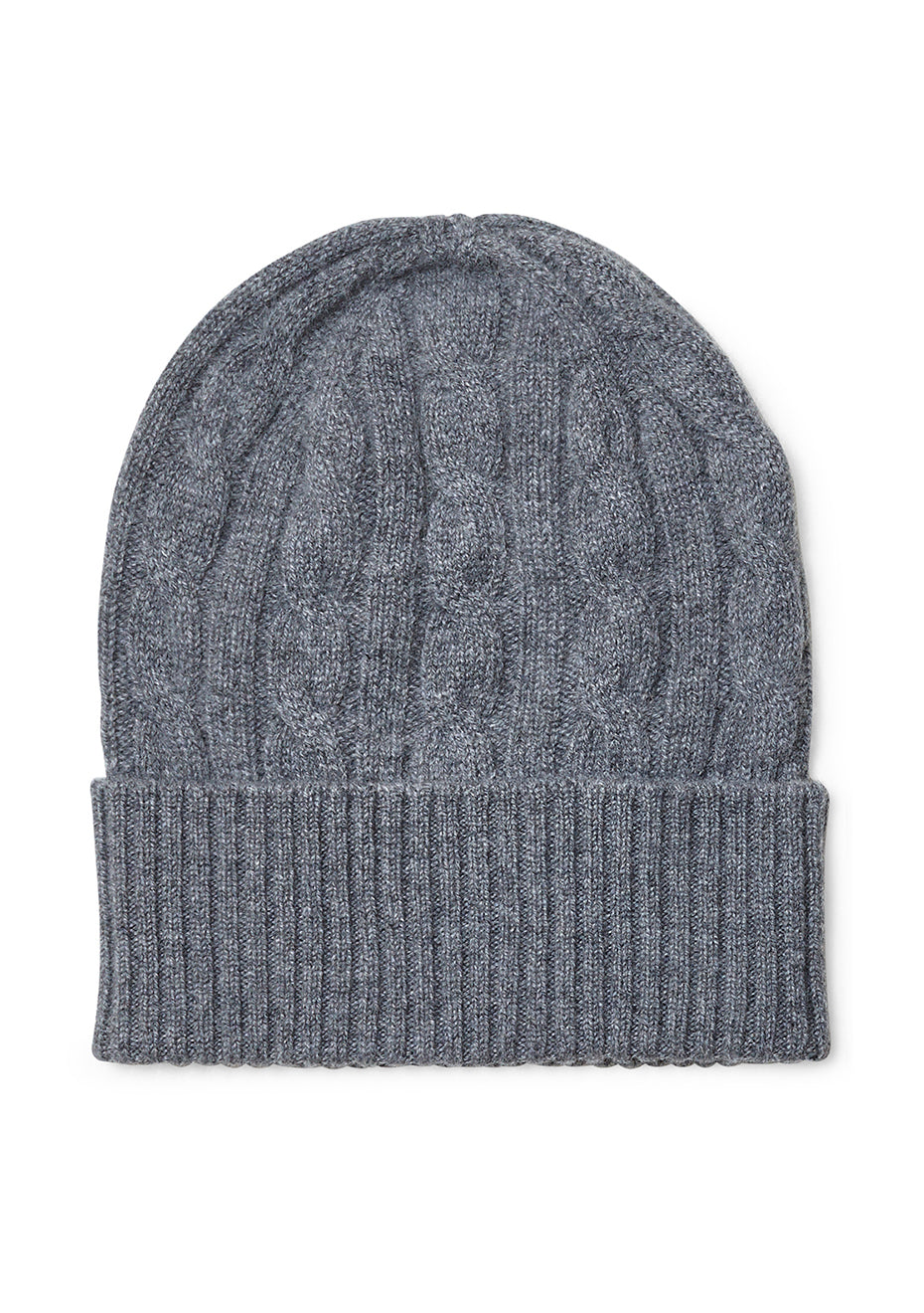 Grey Cashmere Hat