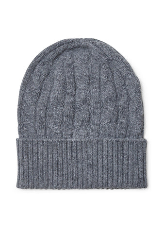 Bad Habits Grey Cashmere Hat