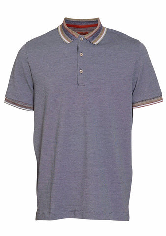 Missoni Blue Polo Shirt