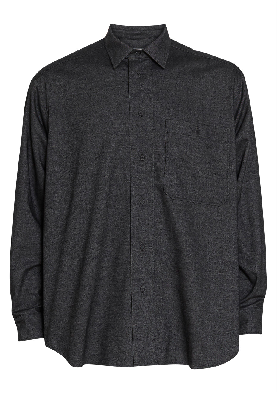 Ron Dark Grey Oversize Shirt