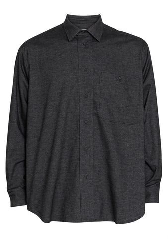 Tonsure Ron Dark Grey Oversize Shirt
