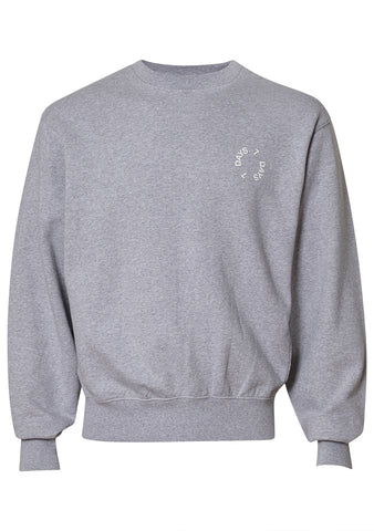 7 DAYS Heather Grey Vintage Crew Neck shop online at lot29.dk